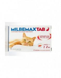 Milbemax Tab Chats 2Kg et...