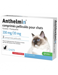 Anthelmin Vermifuge Chat -...
